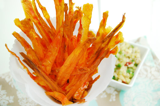 Carrot Chips – This Honest Food | Cooking Classes and ...