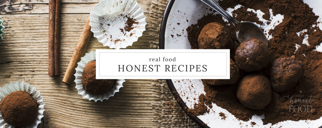 Holistic recipes using whole, unprocessed ingredients