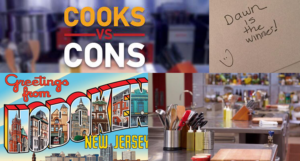 Food Network Cooks vs. Cons