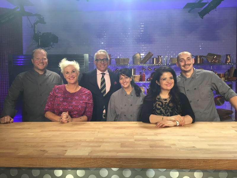 Food Network's Cooks vs. Cons winner, Dawn Viola