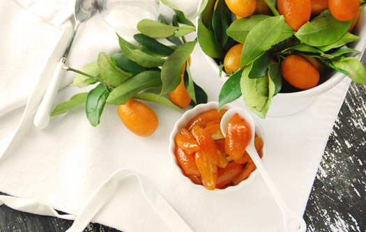 Honey Kumquat Compote