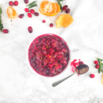 This Honest Food | Cranberry Sauce with Orange and Rosemary