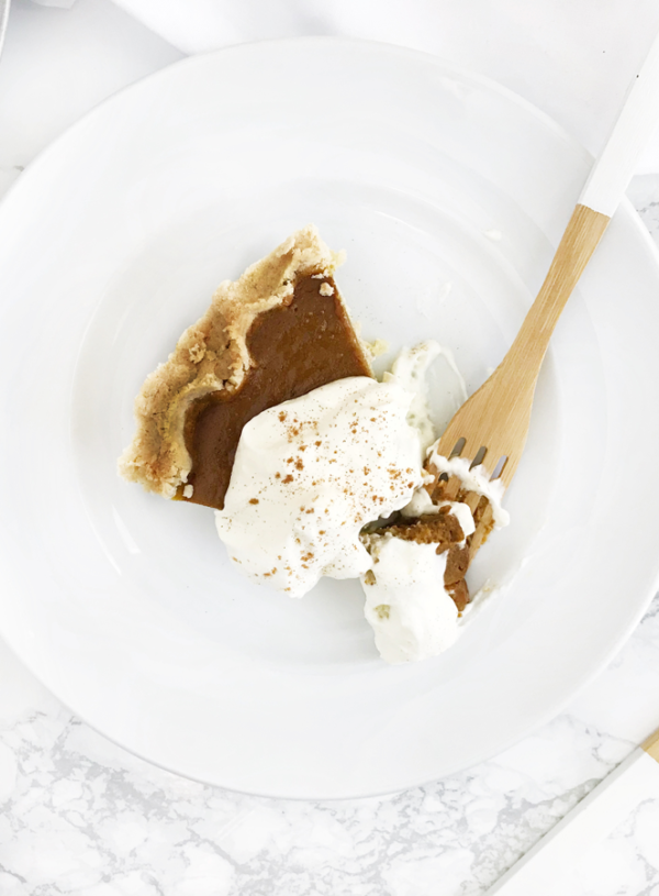 This Honest Food | Gluten-Free Pumpkin Pie